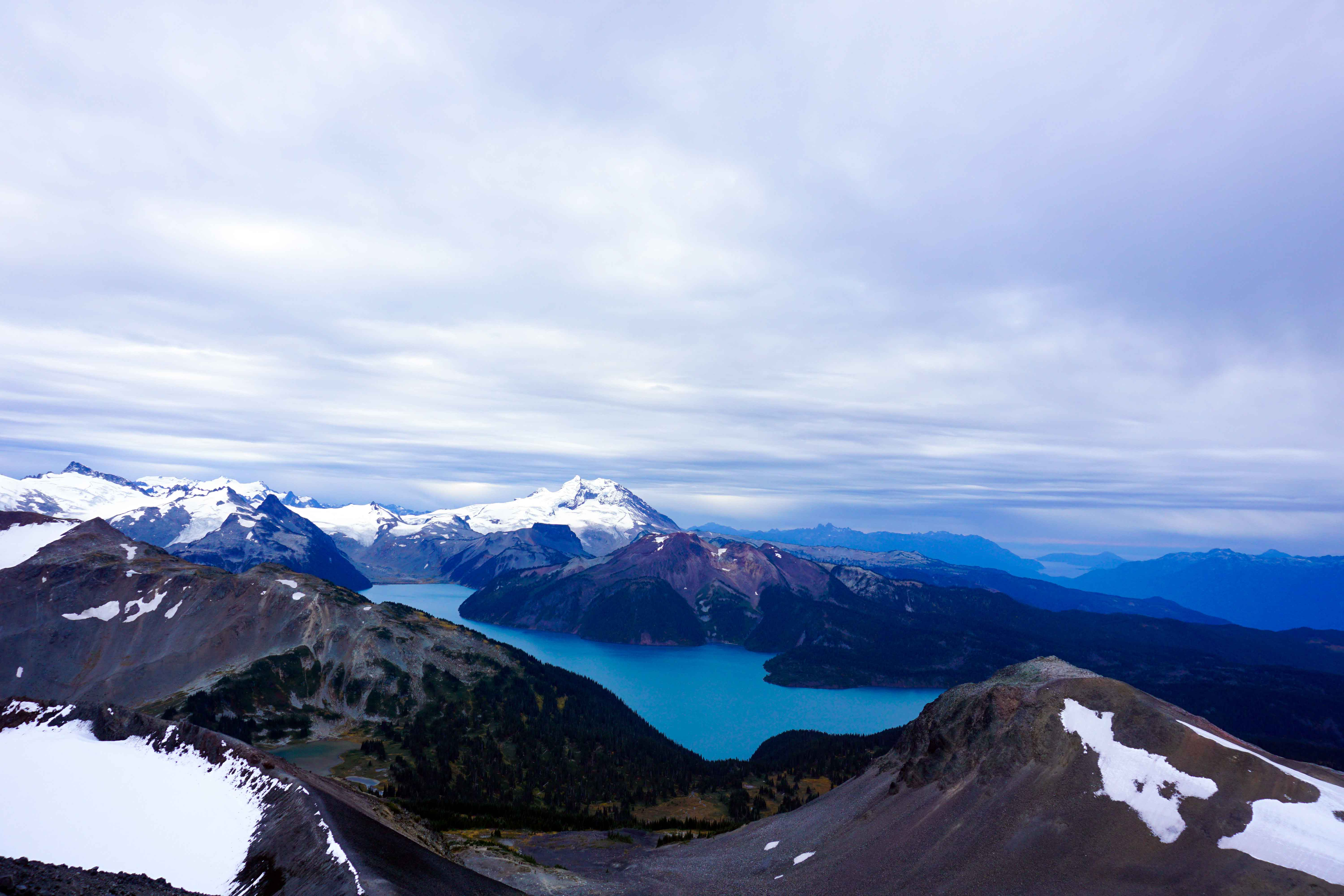 View of Garibaldi Lake from Black Tusk