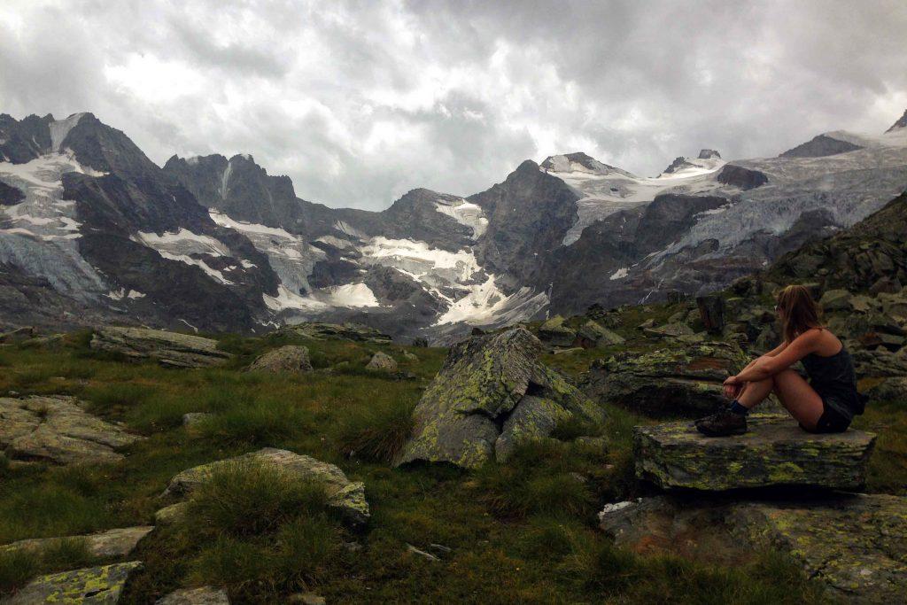 Gran Paradiso mountain range