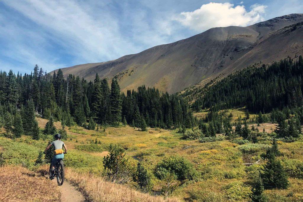 Mountain biking in the Chilcotins