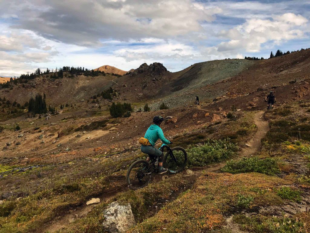 Mountain biking in the Chilcotins
