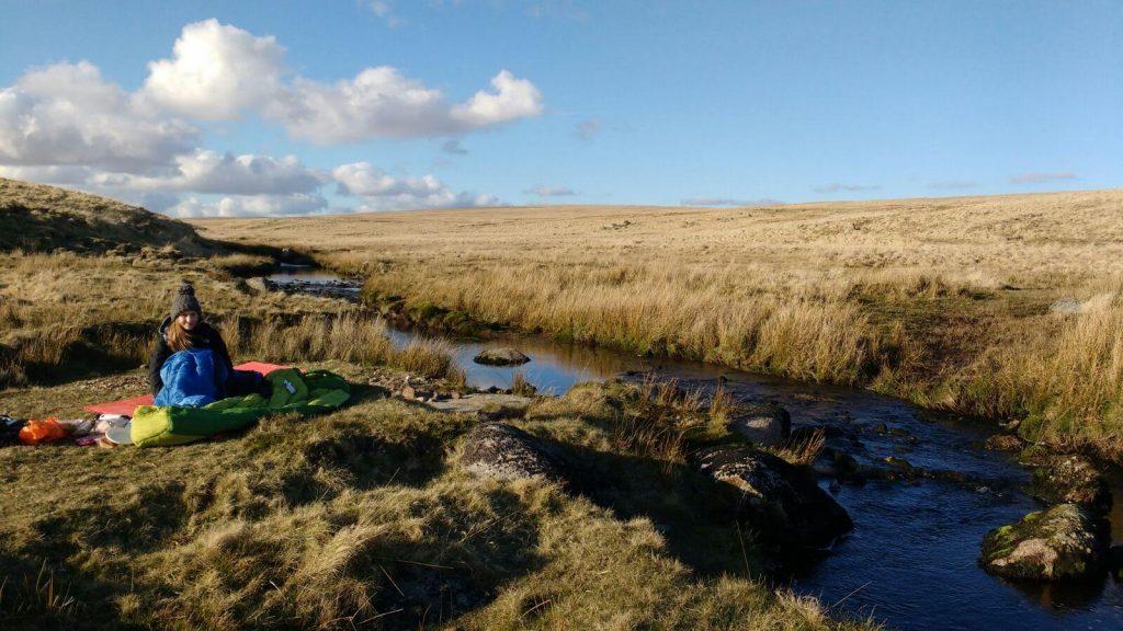 Wild camping in Dartmoor National Park