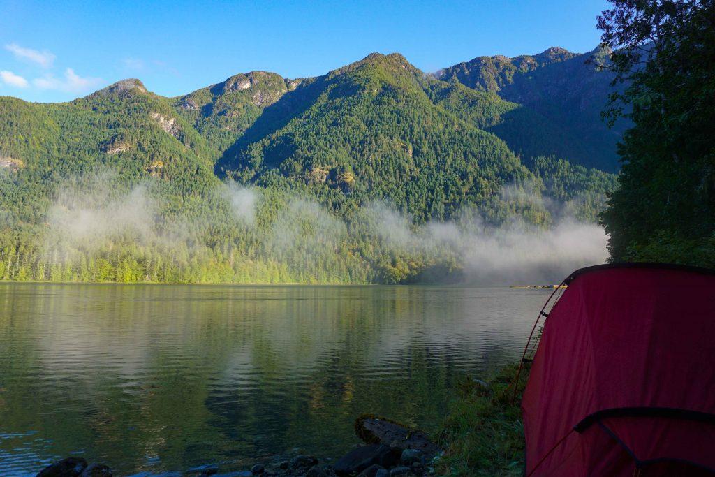 Kayaking the Sechelt Inlet