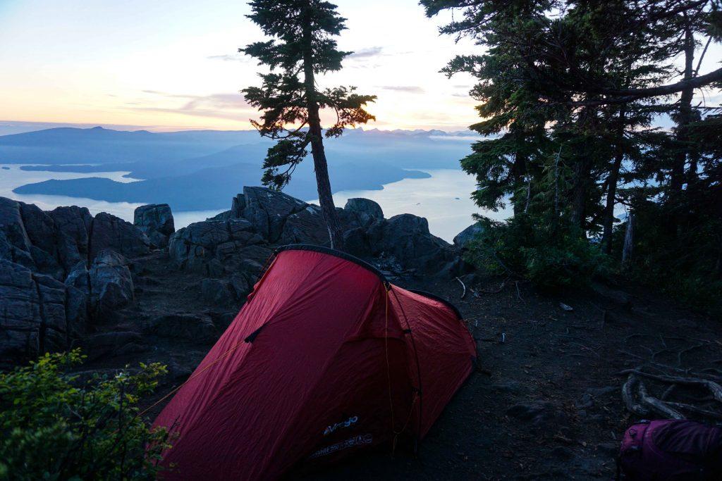 rent tent on St Mark's Summit